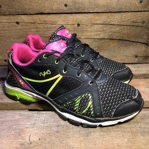 Ryka Vida RZX Black Running Shoes